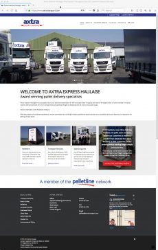 Axtra Website