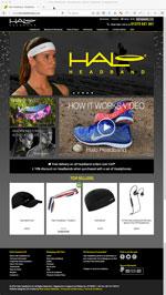 Halo Headband Website