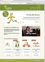 Healthy Living Club Website