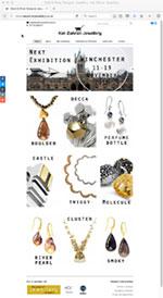 Kat Zahran Jewellery Website