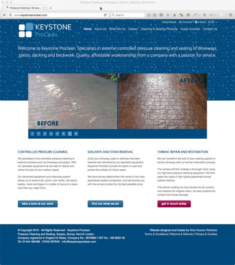 Keystone Proclean Website