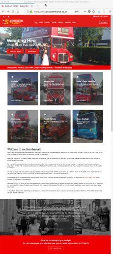 Southern Transit Website