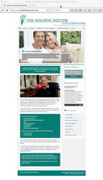 The Holistic Doctor website