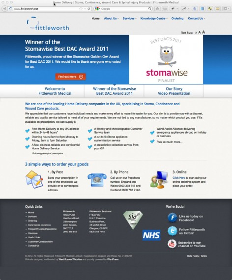 Fittleworth Medical Website