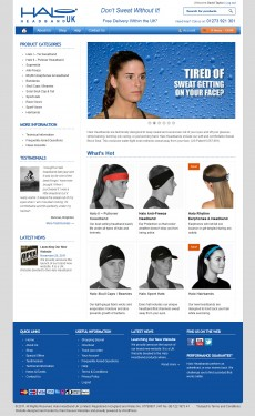 Halo Headband UK Website