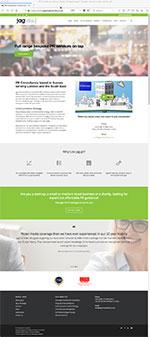 jag press and publicity website