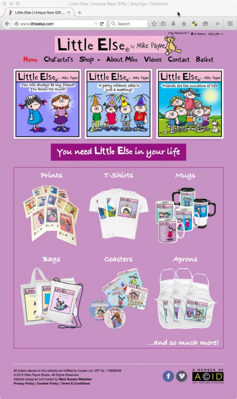 Little Else Website