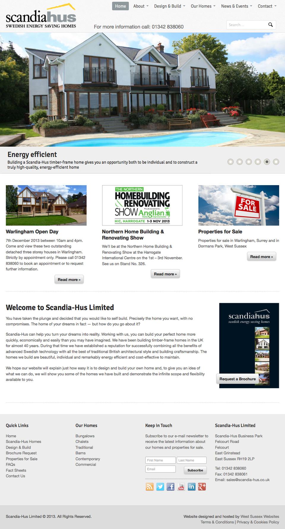 scandia hus west sussex websites. Black Bedroom Furniture Sets. Home Design Ideas