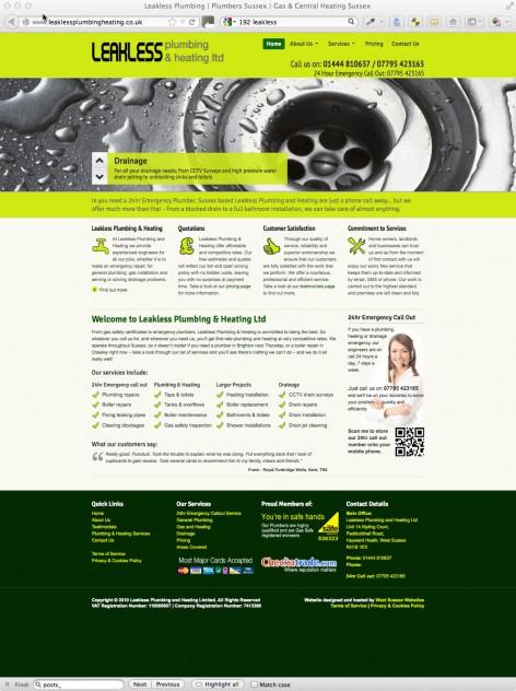 Leakless Plumbing & Heating