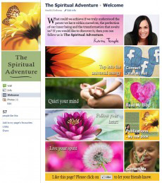 The Spiritual Adventure Landing Page