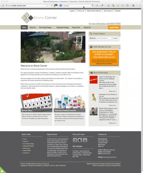 Stone Corner Website
