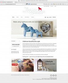 The Swedish Wooden Horse Websote